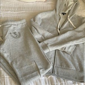 Express sweat suit